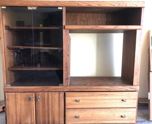 TV 📺 Console - Entertainment Center for Sale in Shepherdsville, KY