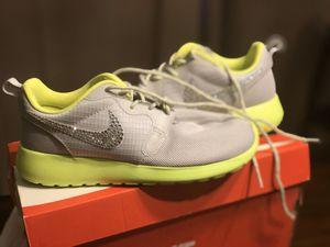 Adult 5/ kid 3 Brand new Swarovski crystal Nike's for Sale in Clovis, CA