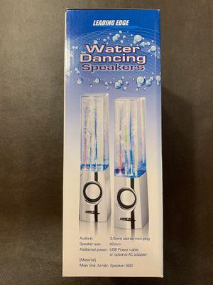 NEW ( UNOPENED) Water Dancing Speakers for Sale in Redding, CT