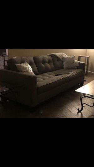 Large pull out bed sofa for Sale in Fresno, CA