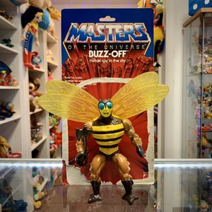 Vintage Heman and the Masters of the Universe Buzz-Off Action Figure With Weapon And Card Back, 1983 MOTU Toy for Sale in Elizabethtown, PA