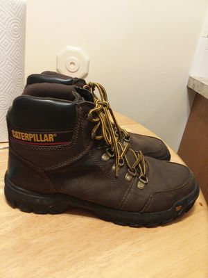 Cat brand work boots size 10 for Sale in Kent, OH