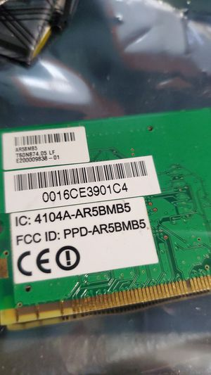 Brand New Wireless Lan Card for Sale in Glendora, CA