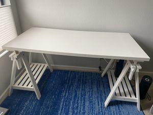 IKEA White Linnmon/Finnvard Desk for Sale in Carlsbad, CA