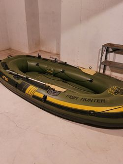 Sevylor inflatable pontoon boat for Sale in Roselle,  IL