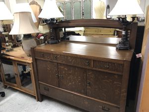 Sideboard with Mirror for Sale in Orlando, FL