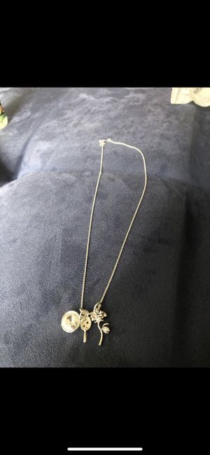 Silver Beauty and the Beast necklace for Sale in Malden, MA