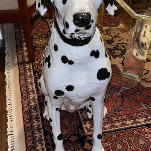 Townsend Ceramic & glass Dalmatian Life Like! 23 Lbs! Amazing Detail! for Sale in Delray Beach, FL