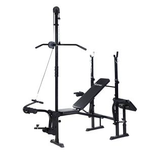 New Adjustable Weight Lifting Flat Bench Rack Set Fitness Exercise Body Workout for Sale in Normandy Park, WA