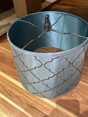 Brown and Teal Lamp Shade for Sale in Broken Arrow, OK
