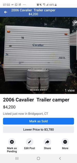 2006 cavalier camper for Sale in Bridgeport, CT