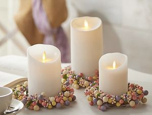 Set of 3 Pip Berry Candle Rings for Sale in Pompano Beach, FL