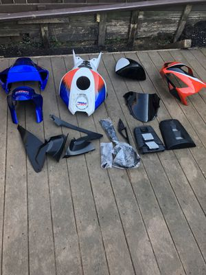 MOTORCYCLE FAIRINGS PARTS 1000 RR for Sale in Silver Spring, MD