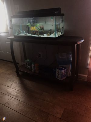 Fish tank & stand for Sale in Oklahoma City, OK
