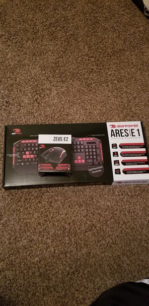 Gaming Keyboard and Mouse ibuypower computer for Sale in Hollywood, FL