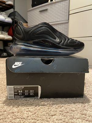 "Nike Air Max 720 ""Triple Black"" for Sale in Pleasanton, CA"