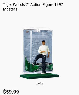 """Tiger Woods 7"""" Action Figure 1997 Masters for Sale in Tampa, FL"""