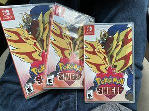 Nintendo Switch Game: Pokemon Shield for Sale in Glen Burnie, MD