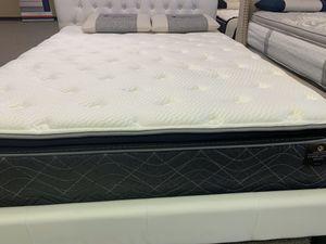Queen size copper pillow top mattress for Sale in Pantego, TX
