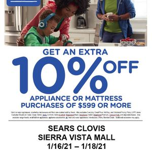 Sears Clovis Family And Friends Event for Sale in Fresno, CA