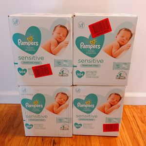 Pampers Sensitive Baby Wipes for Sale in Torrance, CA