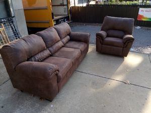 Sofa and Recliner for Sale in Trenton, NJ