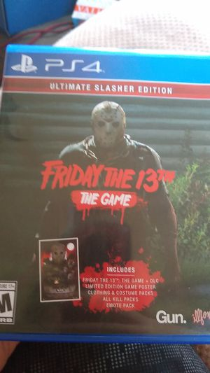 Friday 13th the game pick up only for Sale in Clintonville, WI