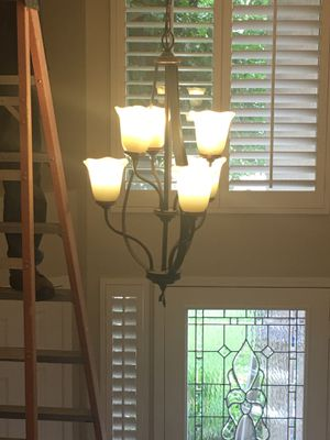 Chandelier Entryway or dining area or living room for Sale in Murrieta, CA