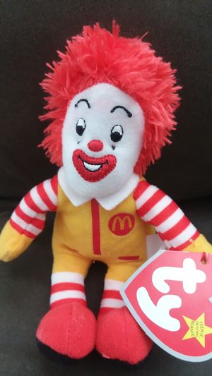 Ronald McDonald TY beanie baby for Sale in El Paso, TX