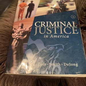Criminal Justice In America 7th Edition for Sale in Whittier, CA