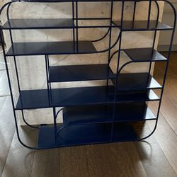 Blue Metal Shelf for Sale in Seattle,  WA
