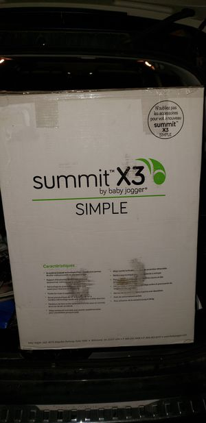 Baby Jogger Summit X3 Single Jogger Stroller - Brand New in Box for Sale in Norwood, MA