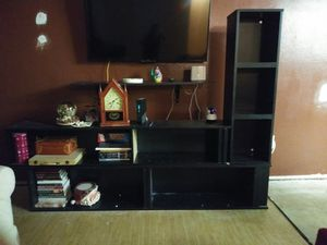 Large bookshelf / tv stand for Sale in Tampa, FL