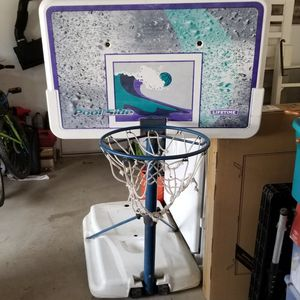 Lifetime pool basketball hoop for Sale in Fontana, CA