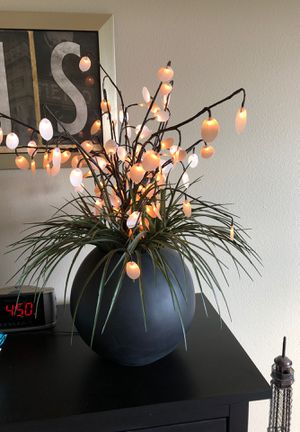 Lighted artificial plant for Sale in Salem, OR