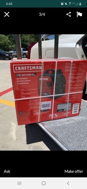 Brand new in box 1700 craftsmen generator. for Sale in Granite Falls, WA