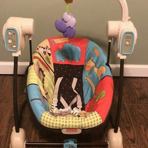 Fisher Price Swing and Seat for Sale in Alexandria, VA