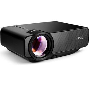 RAGU Z400 Mini Projector, Multimedia Home Theater Video Projector with +21% Lumens 50,000Hours Support HDMI VGA USB AV SD Connected with Laptop/iPad for Sale in Rancho Cucamonga, CA