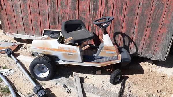 Sears lawn tractor to work