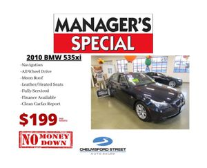 2010 BMW 535XI for Sale in Lowell, MA