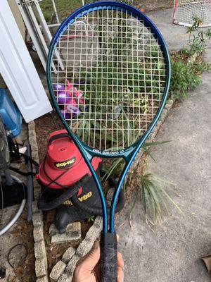 Spalding skill builders tennis racket for Sale in Tampa, FL