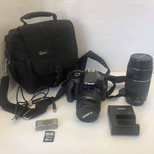Canon EOS Rebel T3 Digital SLR Camera for Sale in Troutdale, OR