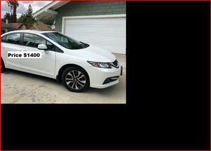 NoDown$1400 honda Civic for Sale in Pittsburgh, PA