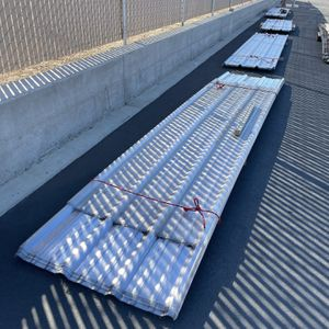 16' Clear Plastic Roofing Panels Brand New Corrugated for Sale in Pismo Beach, CA