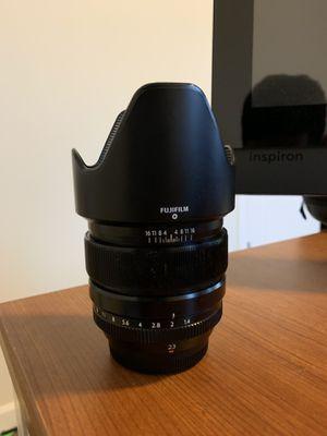 Fuji Fujifilm Fujinon XF 23mm F/1.4 for Sale in Seattle, WA