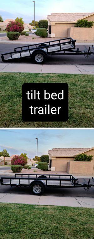 Tilt Bed Trailer 2017 for Sale in Gilbert, AZ