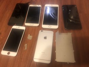 IPhone 6s Plus and others for parts! for Sale in Houston, TX
