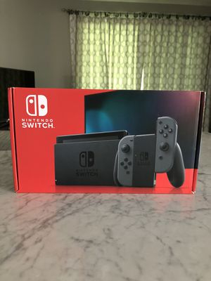 Brand New Nintendo Switch V2 With Gray Joy Cons for Sale in Penn Valley, PA