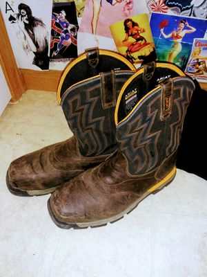 ARIAT REBAR WORK BOOTS 12EE for Sale in Firestone, CO