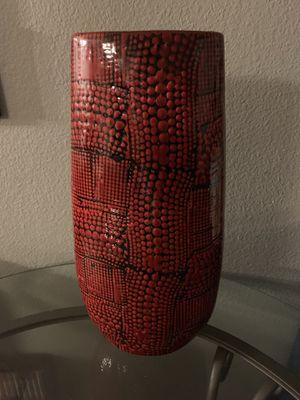 Red vase for Sale in El Cajon, CA